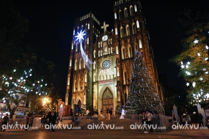 Nhà thờ lớn được coi là một địa điểm đi chơi Noel lý tưởng tại Hà Nội