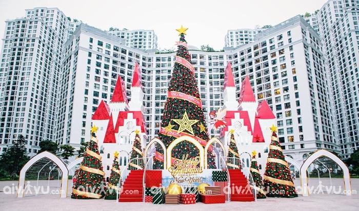 Royal City luôn là cái tên được nhắc nhiều nhất trong dịp Noel