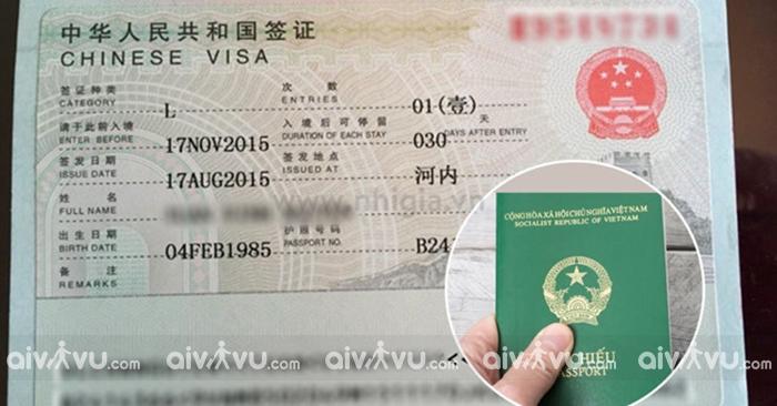 Visa Trung Quốc là loại visa tương đối dễ dàng