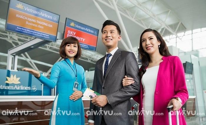 Vietnam Airlines mở quầy làm thủ tục riêng giữa Hà Nội và Hồ Chí Minh