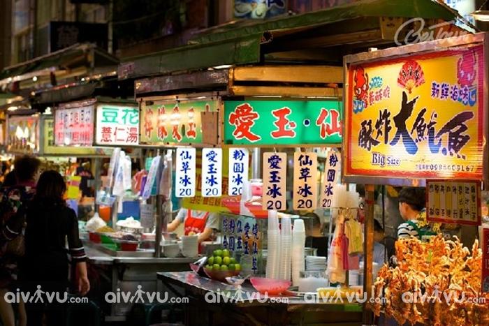 Chợ đêm Lục Hợp - khu chợ đêm nổi tiếng và lâu đời nhất Đài Loan