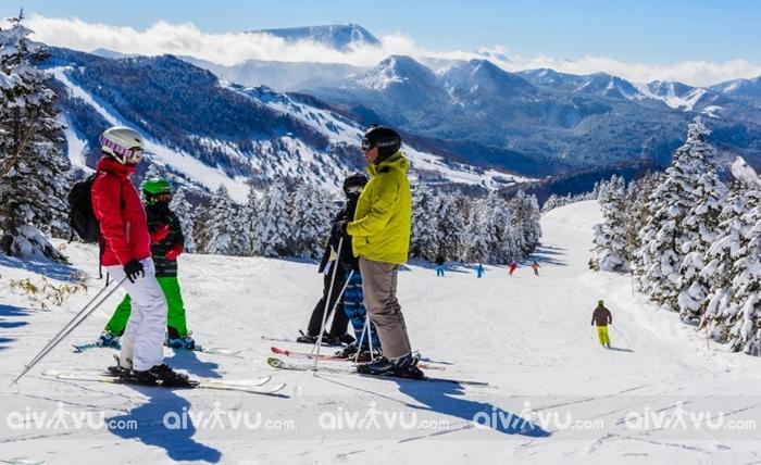Hokkaido với những hoạt động trượt tuyết sôi động