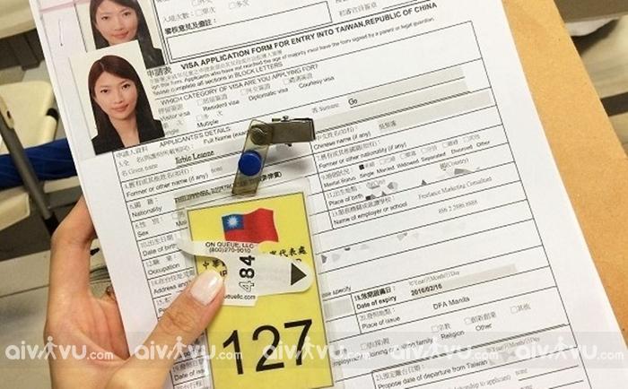 Thủ tục xin visa Đài Loan cần giấy tờ gì?