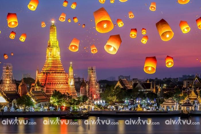 Đến xứ sở chùa Vàng Thái Lan