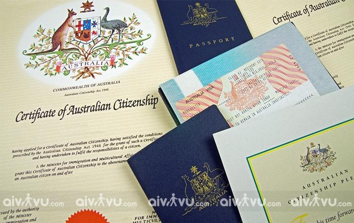 Giấy tờ cần thiết xin visa thương mại đi Úc