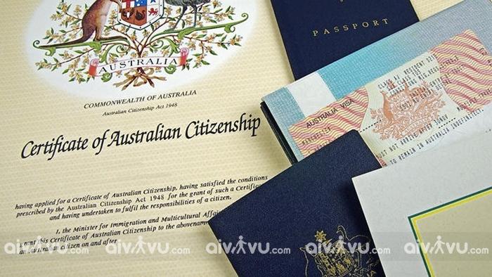 Hồ sơ visa đi Úc thăm người thân gồm những giấy tờ gì?