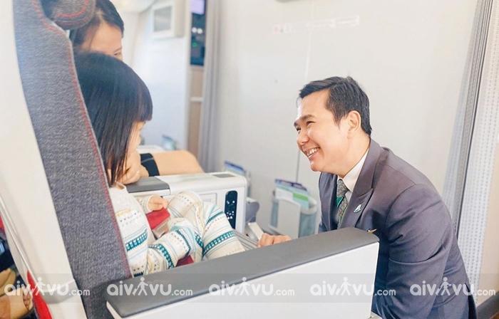 Quy định trẻ em đi máy bay Bamboo Airways