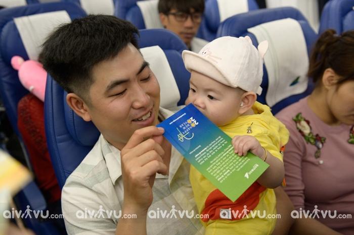 Trẻ em cần mang theo giấy tờ gì khi đi máy bay Bamboo Airways?