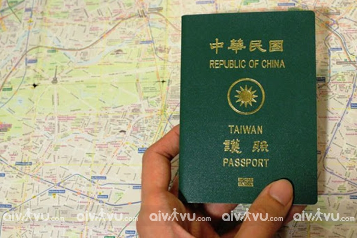 Dịch vụ làm visa đi Đài Loan thăm người thân trọn gói tại Aivivu