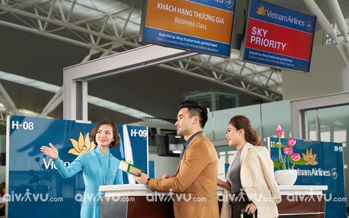 Hoàn đổi vé Vietnam Airlines