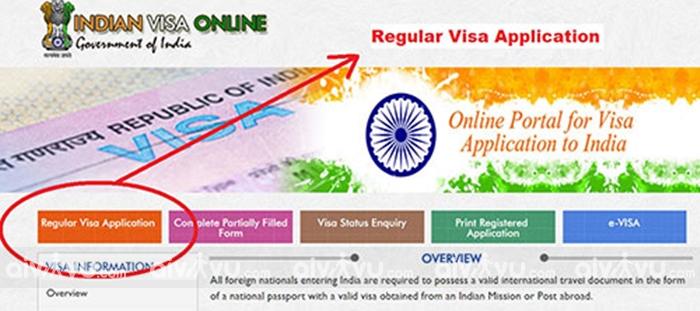 Hướng dẫn điền tờ khai xin visa Ấn Độ mới nhất