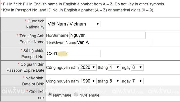 Hướng dẫn xin visa Đài Loan online 10 năm