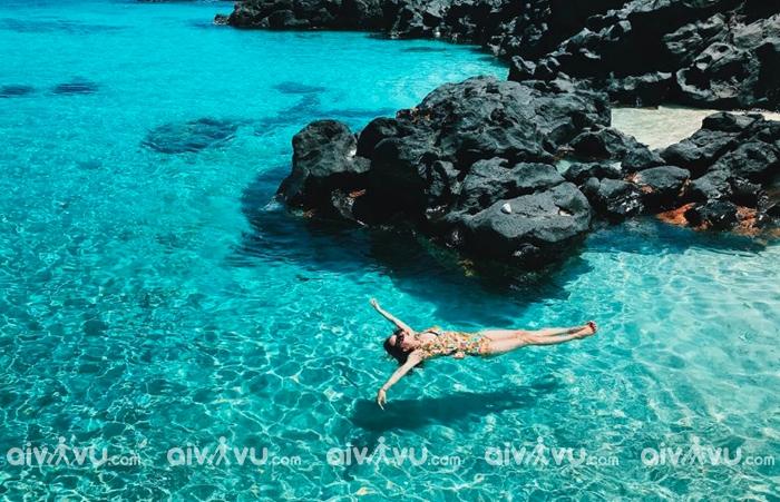 Đảo Bé đẹp tựa Maldives khi du lịch Lý Sơn