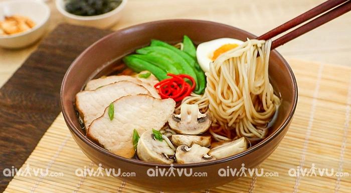 Mì Soba và mì Udon là 2 món mì nổi tiếng của đất nước mặt trời mọc