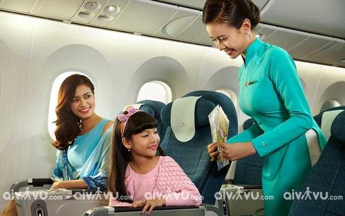 9 dịch vụ miễn phí trên chuyến bay Vietnam Airlines