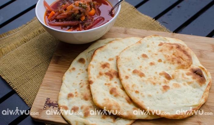 Bánh mì Naan - Gaya