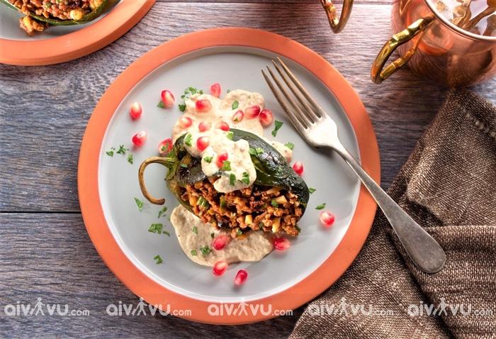 Chiles En Nogada - Món ăn vô cùng được lòng người dân Mexico