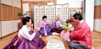 Trò chơi Yutnori truyền thống của Hàn Quốc