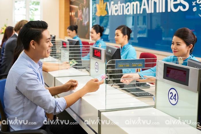 Hướng dẫn lấy thưởng tại chi nhánh phòng vé của Vietnam Airlines