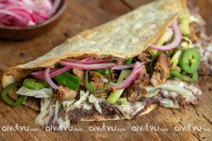 Quesadillas- Món ăn làm nên tên tuổi của ẩm thực Mexico