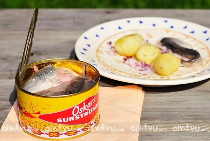 Ẩm thực Thụy Điển gọi tên cá trích muối