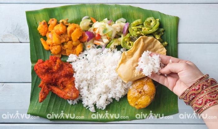 """Ăn """"bốc"""" là đặc trưng của ẩm thực Ấn Độ"""