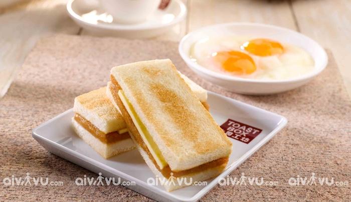 Bánh mì nướng Kaya – Bữa sáng truyền thống của người Singapore