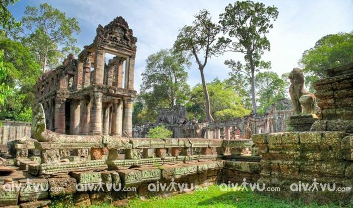 Bí ẩn đền cổ Angkor Wat – Những đền đài bị lãng quên trong rừng thẳm