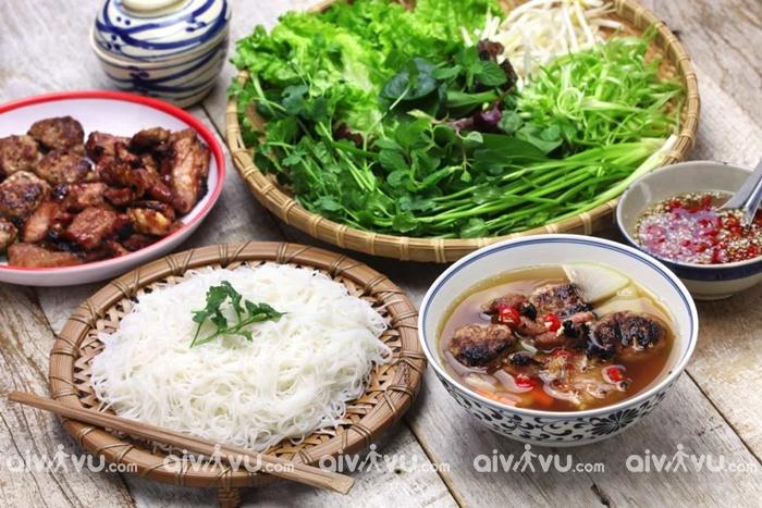 Bún chả - đỉnh cao ẩm thực Hà Thành