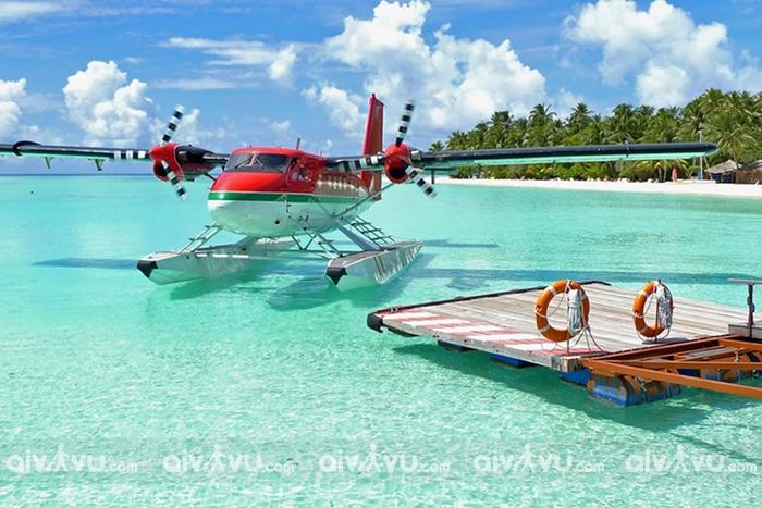 Bay thủy phi cơ ngắm Maldives – trải nghiệm cho giới thượng lưu