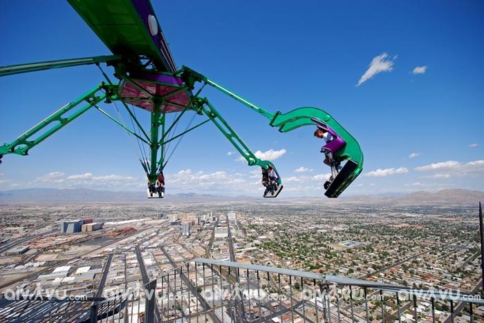 Chinh phục tháp Stratosphere khi du lịch Las Vegas, Mỹ