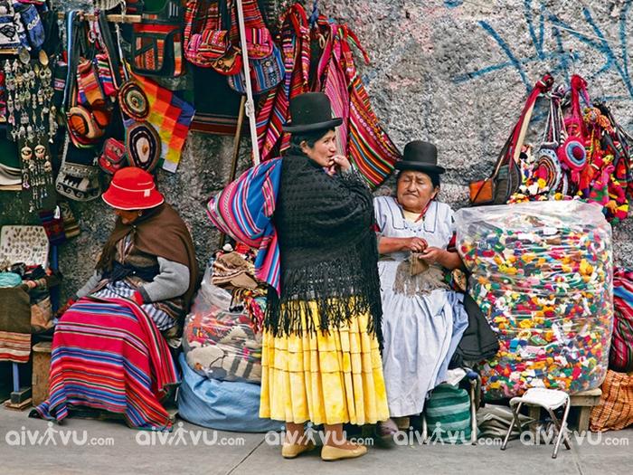 Chợ phù thủy Bolivia – Khu chợ truyền thống không dành cho người yếu tim