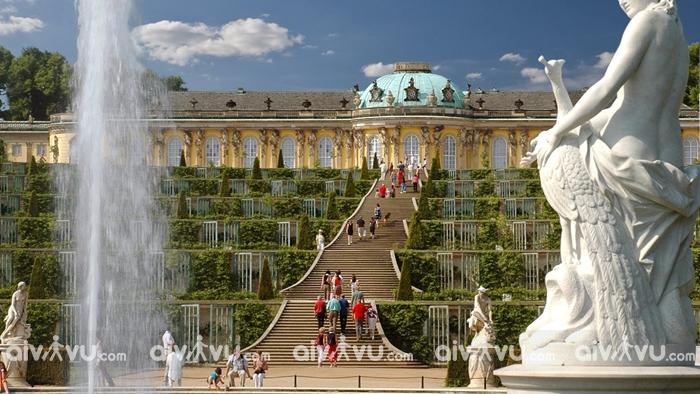 Công viên Sanssouci – Địa điểm hấp dẫn dành cho người yêu thiên nhiên