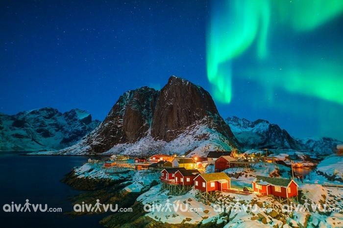 Cực quang tuyệt đẹp khi du lịch Iceland