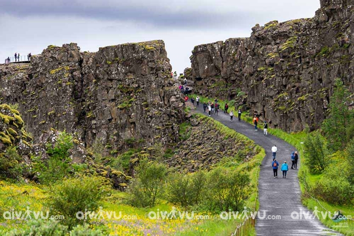 Khung cảnh thiên nhiên tuyệt vời tại vườn quốc gia Thingvellir