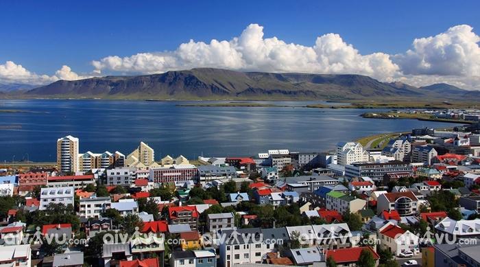 Thủ đô Reykjavik - Địa điểm du lịch nổi tiếng ở Iceland