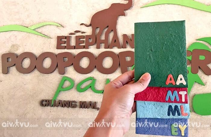Điều lạ lùng ở Thái Lan với quà lưu niệm làm từ… phân voi