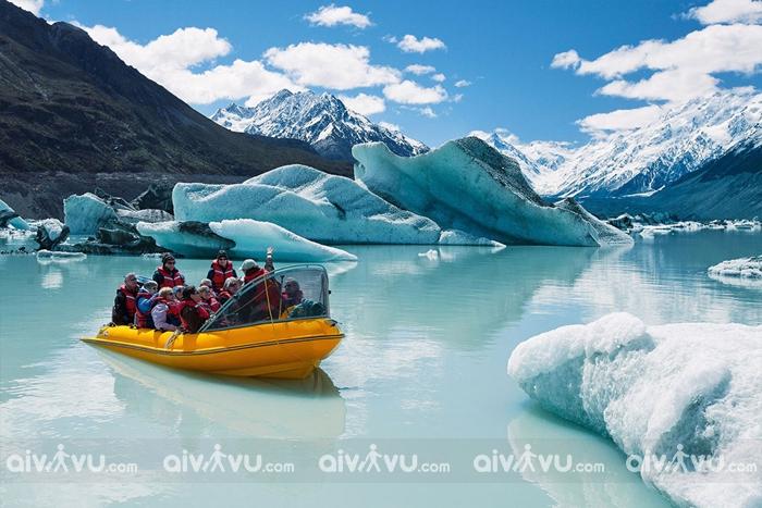 Những dòng sông băng hùng vĩ tại Franz Josef