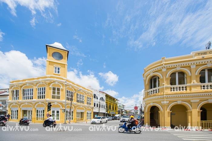 Du lịch Phuket với khu phố cổ Phuket Old Town