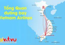 Đường bay Vietnam Airlines tổng quan