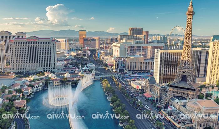 Ghé thăm Las Vegas Strip xa hoa, giàu có