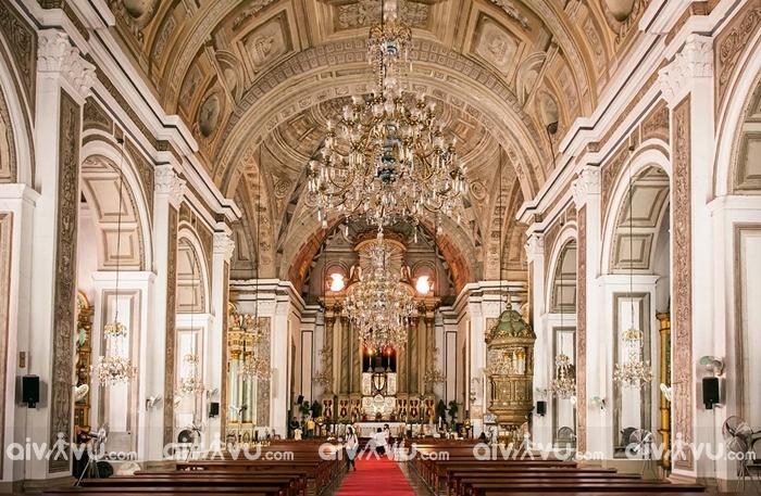Thiết kế ấn tượng, độc đáo khiến nhà thờ Agustin trở thành Di sản thế giới