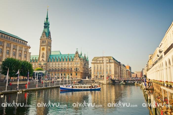 Hamburg, Đức cũng có nguy cơ bị nhấn chìm trong nước biển