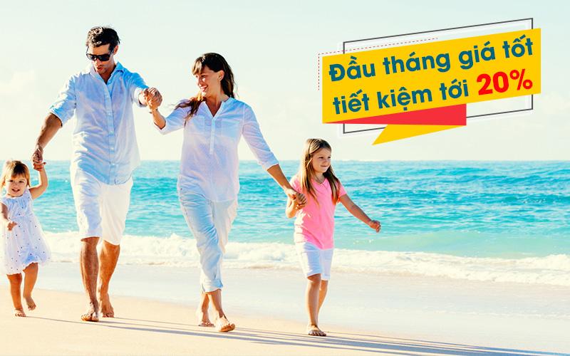 Khuyến mãi 5 ngày vàng đầu tháng từ Vietnam Airlines