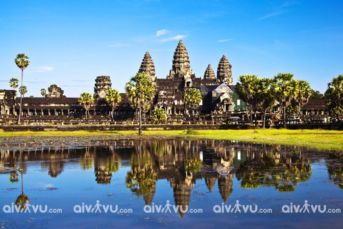 Lịch sử hình thành đền cổ Angkor Wat