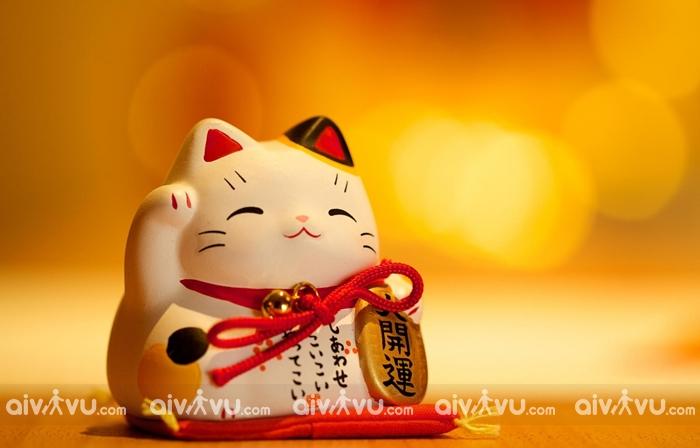 Mèo thần tài Maneki Neko – món quà may mắn cho những ai làm kinh doanh