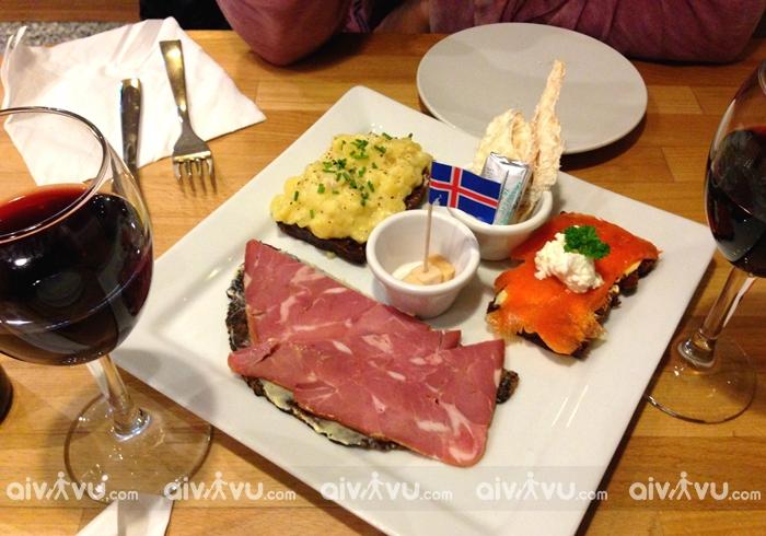Nền ẩm thực độc đáo khi du lịch Iceland