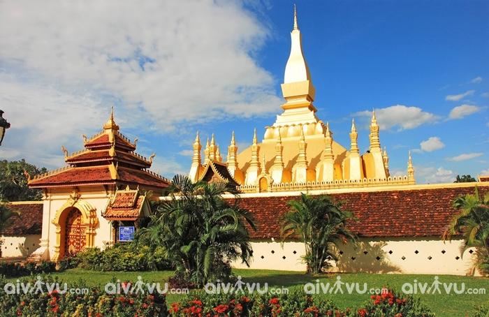 Pha That Luang được coi là biểu tượng của quốc gia Phật giáo - Lào