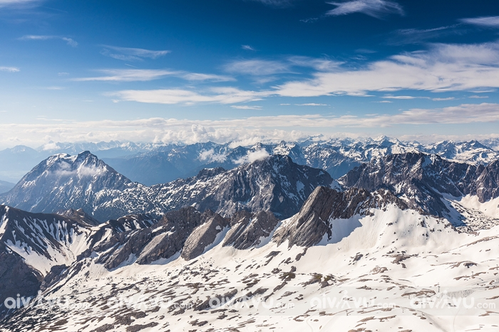 Núi Zugspitze Massif – Thắng cảnh đẹp nhất ở Đức