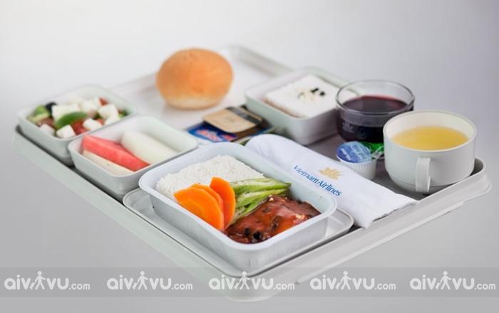 Phân loại các suất ăn miễn phí của Vietnam Airlines